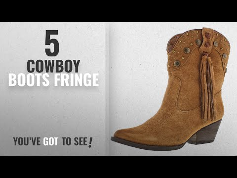Top 5 Cowboy Boots Fringe [2018]: Very Volatile Women's Waddy Ankle Boot Tan 8.5 M US