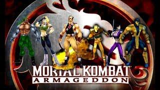 Mortal Kombat: Armageddon (K.A.F) - Kreating MK Special Forces Characters - Gameplay