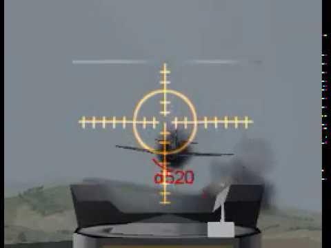 World War II Online 2004 guncam -=ICE=- patrol Bf 109 3.3.2004