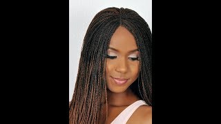 Handmade Braid Wig Collection: Cheap Micro and medium twists and braids Faux locks