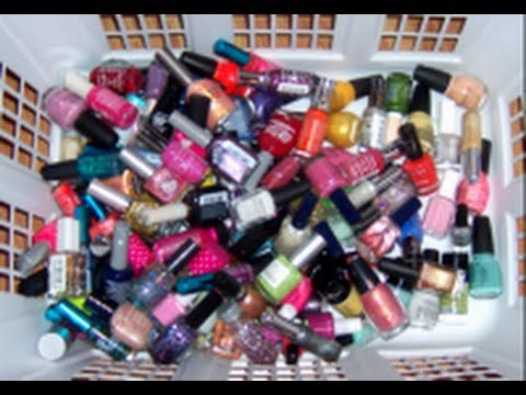 Nail Polish Collection & Storage