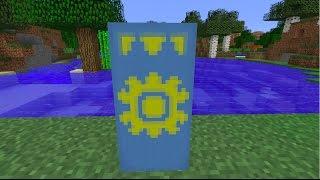 How to make the National Flag of Kazakhstan [KAZ]//Minecraft