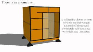 Collapsible Emergency Shelter System