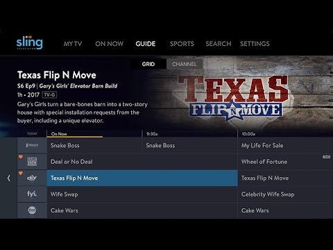 First Look At Sling TV's New App & New Grid Guide