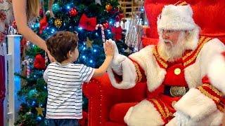 PAPAI NOEL No Mundo Mágico Playmobil - Santa Claus and Kids Paulinho e Toquinho Infantil
