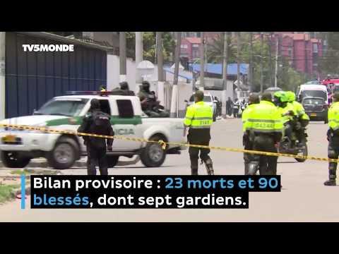 Coronavirus en Colombie: violente mutinerie dans une prison