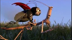 А Fly In His Mouth Came -  A Bug's Life