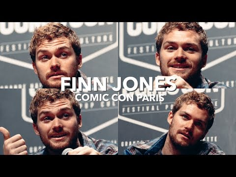 Finn Jones Q&A   Comic Con Paris