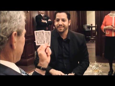 President George W. Bush Card Trick: Real or Magic | David Blaine