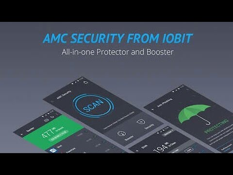 download the AMC Security apk for speed up, protect and clean your phone  from viruses without a root
