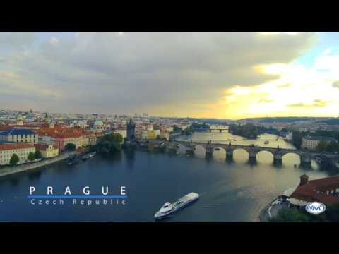 "Prague Capital of the Czech Republic. ""Drone Footage"""