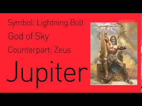 Roman Gods And Goddesses Youtube
