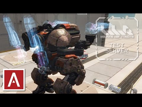 War Robots Test Server [2.5.0] - NEW Spiral Weapon (Heavy Prototype) Review