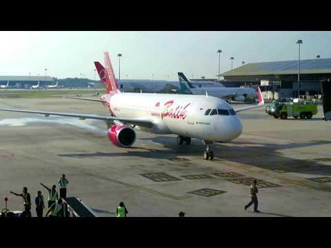 Batik Air Indonesia's Inaugural Flight To Kuala Lumpur - The Arrival at KLIA