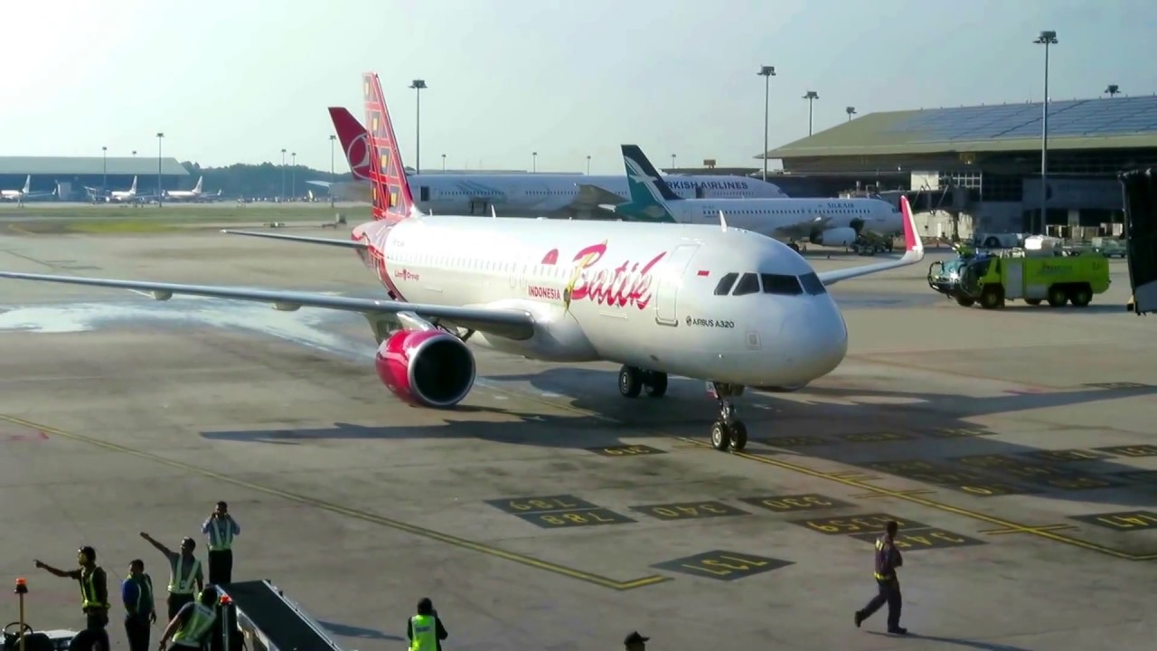 Batik Air Indonesias Inaugural Flight To Kuala Lumpur  The