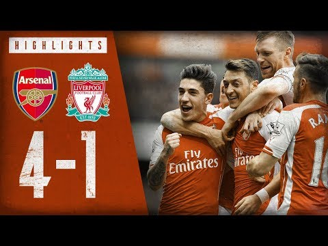 🔥 OZIL'S FREE-KICK 🔥| Arsenal 4-1 Liverpool | Highlights | April 4, 2015