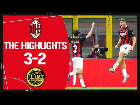 Highlights | AC Milan 3-2 Bodø/Glimt | Europa League Third Preliminary Round
