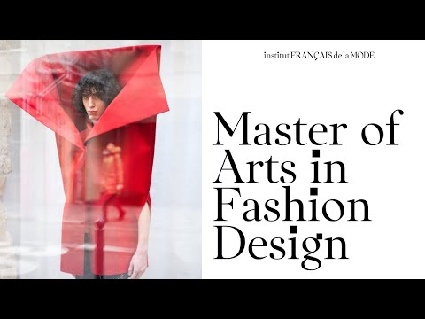 Master Of Arts In Fashion Design Garment Accessory Image Knitwear Pattern Making Institut Francais De La Mode