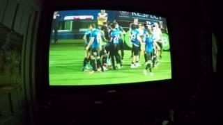 gol viitorul apoel 1-0 VIDEOPROIECTOR benq w 1110 filmat cu gopro hero4