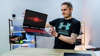 видео обзор ноутбука HP Omen