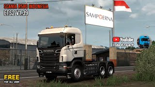 Download [Review] Scania R580 Indonesia Taste by AMG Modding | Add-On Scania RJL ETS2 v1.39