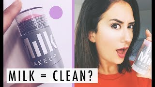 MILK MAKEUP Lip + Cheek Stick Review | Swatches + Green Beauty Guide