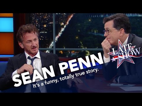 The Strange and Twisted Tale of Sean Penn's New book