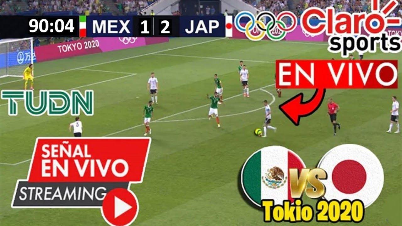 México VS Japón  TOKIO 2020 - Juegos Olímpicos En VIVO 6:00h - No te lo pierdas HOY 25 julio 2021
