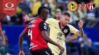 Resumen América 2 - 2 Atlas | Partido Amistoso | Televisa Deportes