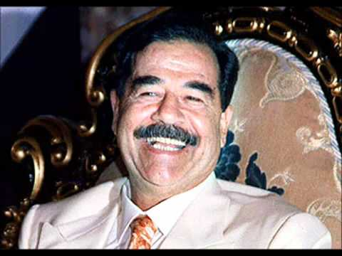 صدام حسين بلغة الكلدانية Saddam Hussein speaks the language of the Chaldean