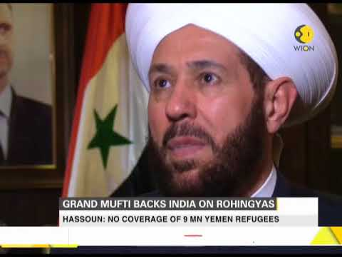 Exclusive: Syrian Grand Mufti backs India's position on Rohingya crisis