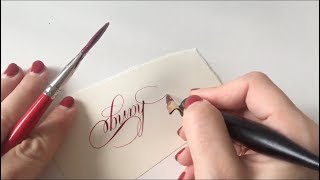 AWESOME COPPERPLATE CALLIGRAPHY COMPILATION
