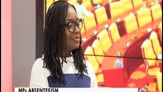 MPs Absenteeism: 15 MPs Found To Abandon Work After 'Clocking In' - AM Talk on JoyNews (17-6-19)