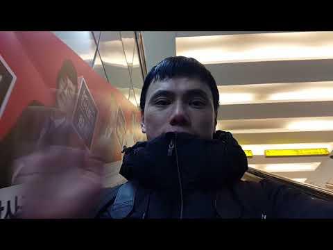 Tàu điện ngầm tại thành phố Daegu Hàn Quốc