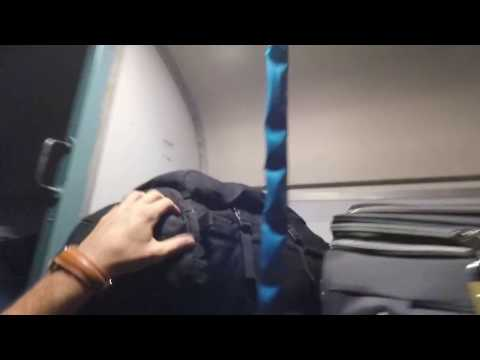 926 km Indian Railway Train Journey. Boarding Train. Indian Railway Train. Kochi Ernakulam to Goa