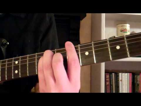 How To Play The Bb (B Flat) Major Chord  Or (A#) A Sharp On Guitar