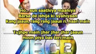 Sun Saathiya karaoke Karaoke