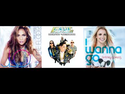 Jennifer Lopez vs. Far East Movement vs. Britney Spears - I Wanna Go Live My Life On The Floor