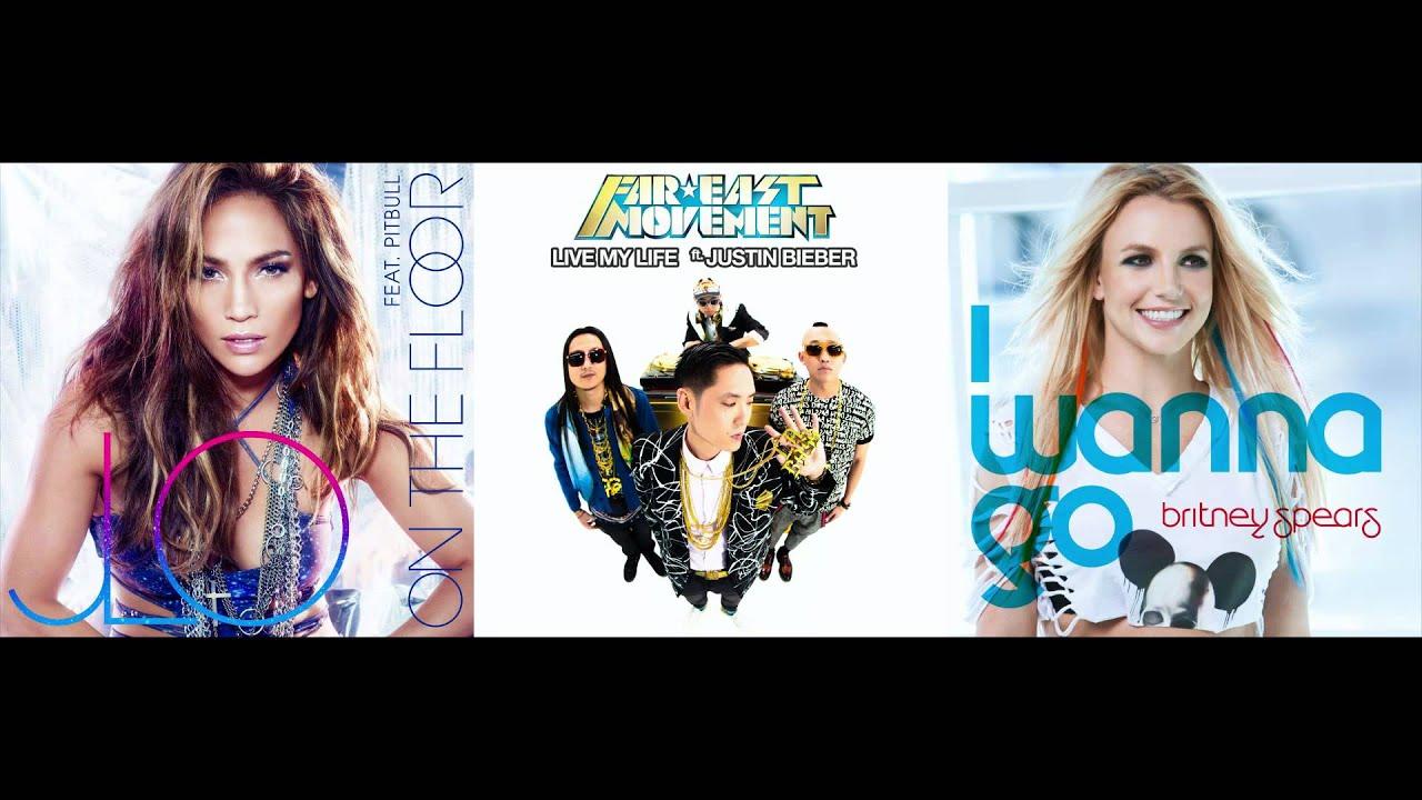 Jennifer Lopez Vs. Far East Movement Vs. Britney Spears