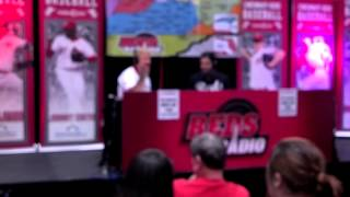 Ryan LaMarre being interviewed at 2013 Redsfest