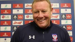 Steve Watson pre Alrincham (FA Cup)