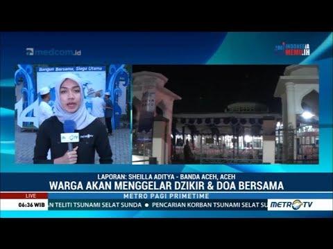 Peringatan 14 Tahun Tsunami Aceh Dipusatkan di Masjid Tgk Chik Maharaja Gurah