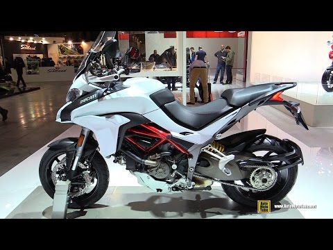 2015 Ducati Multistrada 1200 S - Walkaround - Debut at 2014 EICMA Milan Motorcycle Exhibition