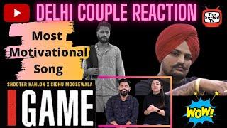 GAME (Full Video) Shooter Kahlon | Sidhu Moose Wala | Delhi Couple Reactions