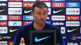 Barca's Enrique says 'not worried' by bad press after PSG loss