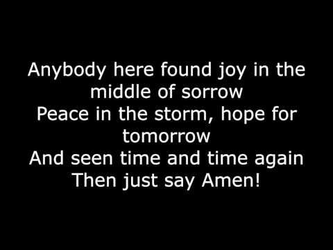 Say Amen-Finding Favour- Piano & lyrics