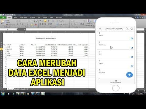 Aplikasi Konversi Nilai Sederhana- Pakai Ms. Excel.