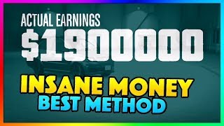 How To Make $1,900,000 Million PER HOUR in GTA 5 Online   NEW Best Fast Unlimited Money Guide/Method