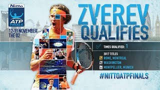 Zverev Third To Qualify For Nitto ATP Finals