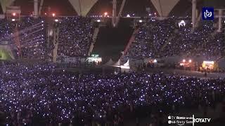 فرقة كورية تحيي حفلاً في الرياض (12/10/2019)